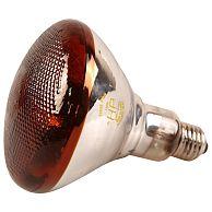 Лампа инфракрасная 150 Bт JK Lighting, E27 R38, прессованное стекло, рубин