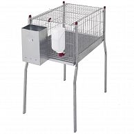 """Клетка для кроликов """"MARSELLA"""" 95 см односекционная"""