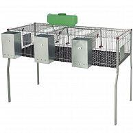 """Клетка для кроликов """"PENTA 3"""" 157 см трехсекционная"""