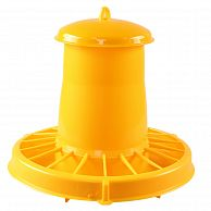 Кормушка бункерная 7 кг пластик с разделительной решеткой