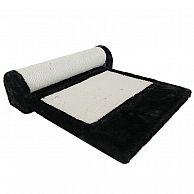 Когтеточка-коврик 36х42х24 см, черный